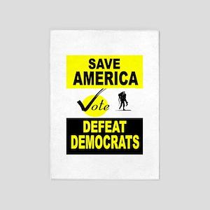 Save America 5'X7'Area 5'X7'Area Rug