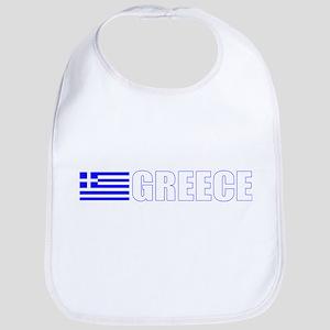 Greece Flag Bib