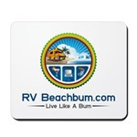 Rv Beachbum Logo Mousepad