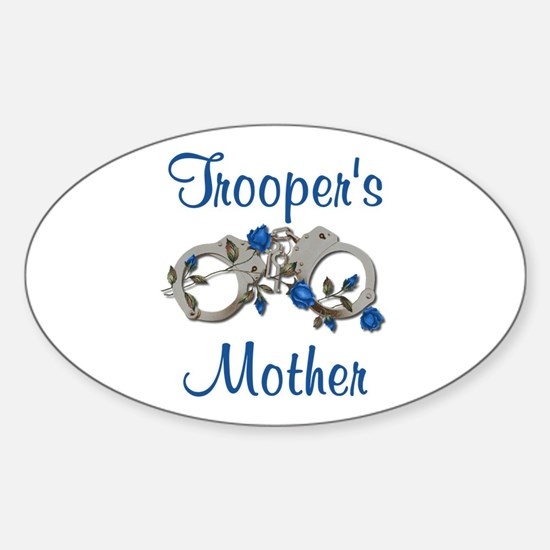 Trooper's Mother Oval Decal