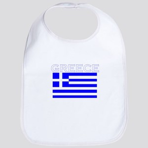 Greece Flag II Bib