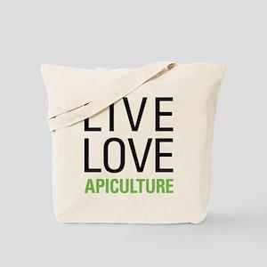 Live Love Apiculture Tote Bag