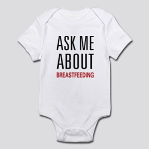 Ask Me Breastfeeding Infant Bodysuit