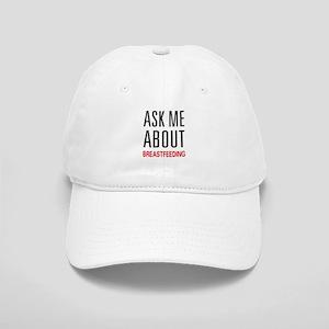 Ask Me Breastfeeding Cap