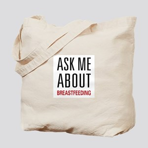 Ask Me Breastfeeding Tote Bag