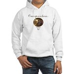 Horse Theme Design #55000 Hooded Sweatshirt