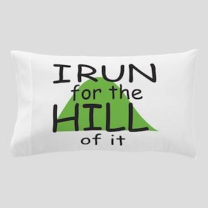 Funny Hill Running Pillow Case