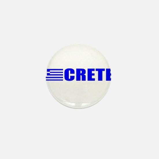 Crete, Greece Mini Button