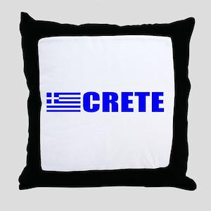 Crete, Greece Throw Pillow