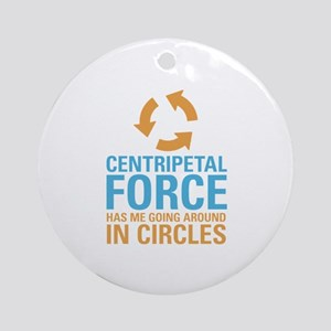 Centripetal Force Ornament (Round)