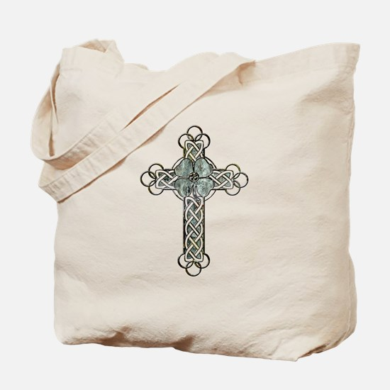 Clover Cross Tote Bag