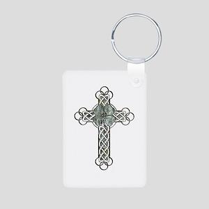 Clover Cross Keychains
