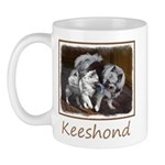 Keeshond Playtime 11 oz Ceramic Mug