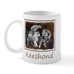 Keeshond Playtime Mug