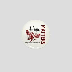 Hope Matters 1 Amyloidosis Mini Button