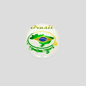 Pandeiro - Vintage Mini Button