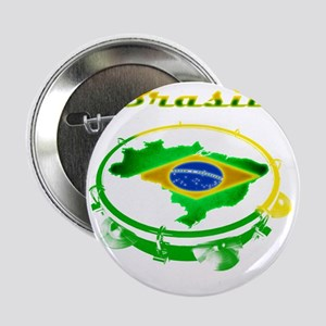 "Pandeiro - Vintage 2.25"" Button"