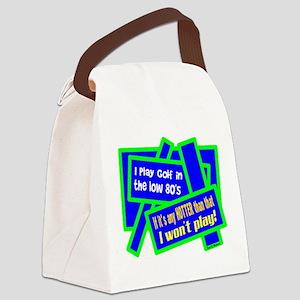 I Play Golf-Joe E. Brown/t-shirt Canvas Lunch Bag