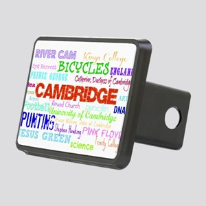 Cambridge Typography Rectangular Hitch Cover