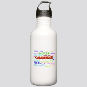 Cambridge Typography Sports Water Bottle