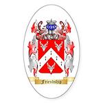 Friendship Sticker (Oval 10 pk)