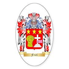 Friel Sticker (Oval)