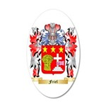 Friel 35x21 Oval Wall Decal