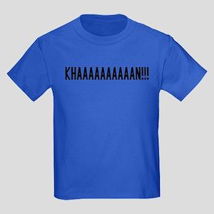 KHAAAAAAAAN!!!! Kids Dark T-Shirt