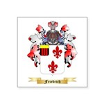 Friedrich Square Sticker 3