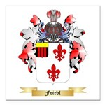 Friedl Square Car Magnet 3