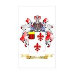 Friederichsen Sticker (Rectangle 50 pk)