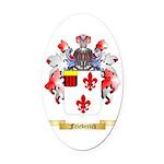 Friederich Oval Car Magnet