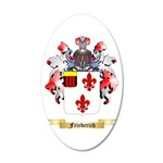 Friederich 20x12 Oval Wall Decal
