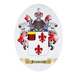 Friederich Ornament (Oval)