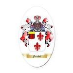 Friedel Oval Car Magnet