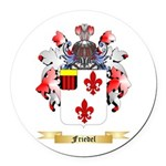 Friedel Round Car Magnet