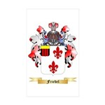 Friedel Sticker (Rectangle 50 pk)