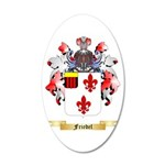 Friedel 20x12 Oval Wall Decal