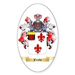 Friede Sticker (Oval)