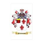 Frickmann Sticker (Rectangle 10 pk)