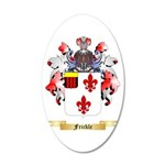 Frickle 20x12 Oval Wall Decal