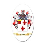 Frickel 20x12 Oval Wall Decal