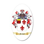 Frickel 35x21 Oval Wall Decal