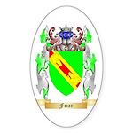 Friar Sticker (Oval 10 pk)