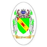 Friar Sticker (Oval 50 pk)