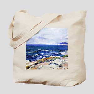Carmel Coast, painting by Guy Rose Tote Bag