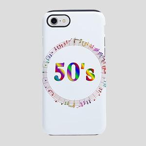 50s Music iPhone 7 Tough Case