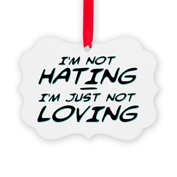 I'm Not Hating, I'm Just Not Loving Picture Orname