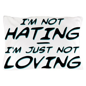 I'm Not Hating, I'm Just Not Loving Pillow Case