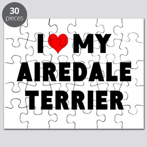 I LUV MY AIREDALE TERRIER Puzzle